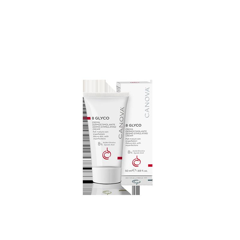 8 GLYCO - Dermo-stimulating face cream